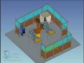 机器人工作站方案示意图