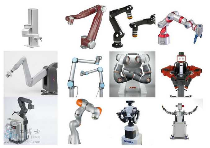 各种协作机器人