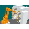 利用ABB机器人打磨抛光水槽,高效,智能自动化