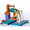 ABB工业级机器人,专业用于装配,实际案例:工博士机器人集成针对于发动机装配工作站应用