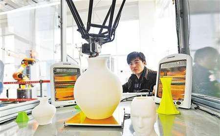 3D打印并联机器人