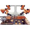 遨博机器人双臂泡茶应用于服务领域给茶艺增添新情调-欢迎来电咨询洽谈商务合作