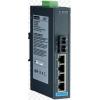 研华EKI-2525M工业以太网交换机4+1SC多模光纤端口非网管型