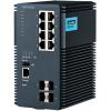 研华EKI-9312工业以太网交换机光8电全千兆网管型