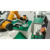 遨博协作机器人点料机& 贴标签检测应用集成