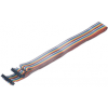 研华PCL-10120 2m IDC-20扁平线缆 扁平缆缆,20芯IDC插座连接器