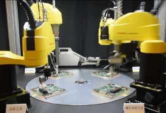 发那科SCARA机器人电子产品组装系统介绍