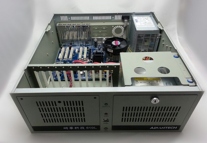 研华工控机IPC-610L/701VG/I5-2400/8G/128GSSD+500G/DVD/K+M键鼠/
