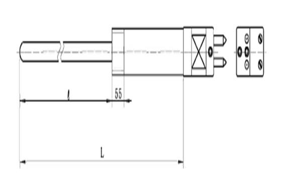 热电偶,WR□-GL玻璃窑炉专用热电偶-重庆川仪