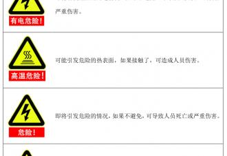 遨博机器人报错代码:简介和安全警示标志