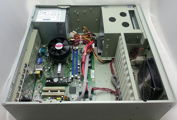 研华IPC-610MB-30LDE/705E/I5-6500/8G/1T/DVD/K+M 工控机