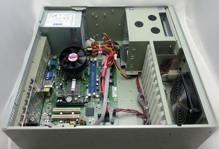 研华工控机IPC-610MB-30LDE/786G2/I7-8700/8G/2T/DVD/KB/MS 工控机