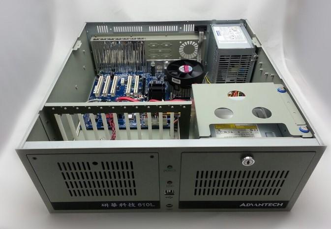 研华IPC-610L/701VG/I3-2120/4G/500G/WIN7专业版/工控机
