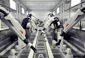 统计下2020工程机械和机器人与智能制造行业增速超过20%